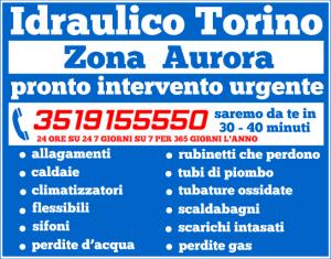 idraulico torino Zona Aurora