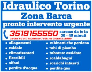 E' questa la tua zona? Non cercare un idraulico dall'altra parte della città: idraulico Torino sarà a casa tua in soli 30- 40 minuti e a prezzi economici! Chiama il nostro pronto intervento al numero 3519155550, ti risponderemo 24 ore su 24 e risolveremo ogni tuo problema grazie alla nostra manodopera certificata e qualificata.