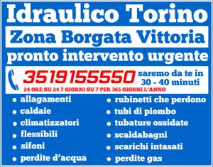 idraulico torino Zona Borgata Vittoria