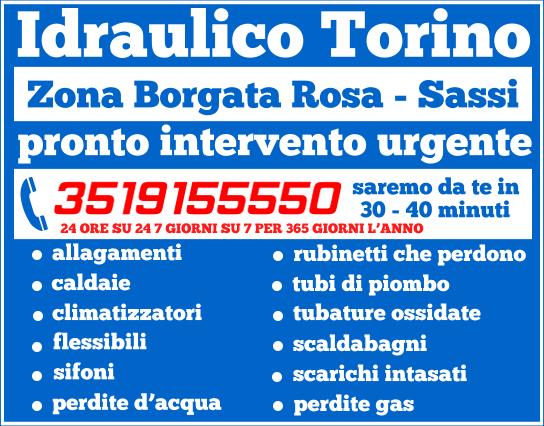 Idrailico Torino ti risponderà 24 ore su 24 e sarà a casa tua con una manodopera qualificata ed esperta nell'arco di 30/40 minuti al massimo, a costi economici.
