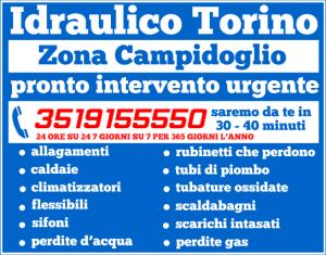 idraulico torino Zona Campidoglio