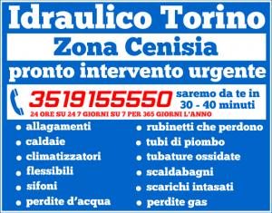 idraulico torino Zona Cenisia