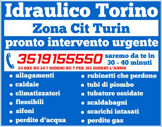idraulico torino Zona Cit Turin
