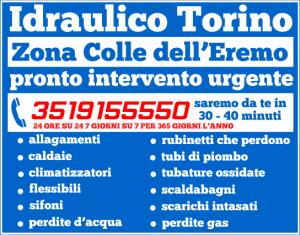 idraulico torino Zona Colle dell'Eremo