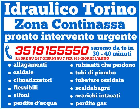 idraulico torino Zona Continassa