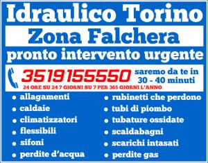 idraulico torino Zona Falchera