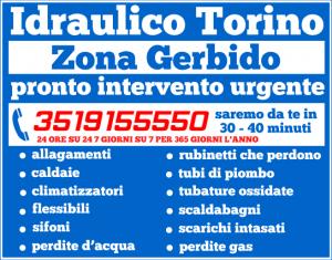 idraulico torino Zona Gerbido