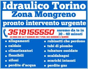 idraulico torino Zona Mongreno