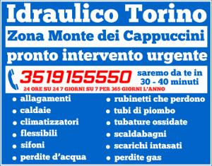 idraulico torino Zona Monte dei Cappuccini