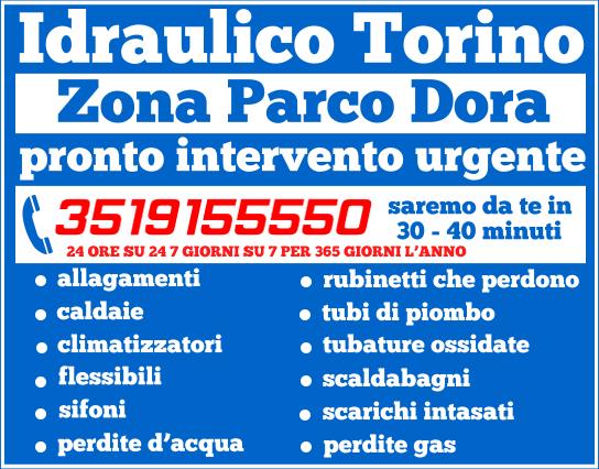 idraulico torino Zona Parco Dora