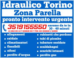 idraulico torino Zona Parella