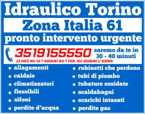 idraulico torino zona Italia 61