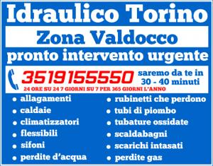 idraulico torino Zona Valdocco