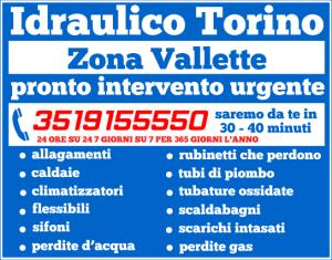 idraulico torino Zona Vallette